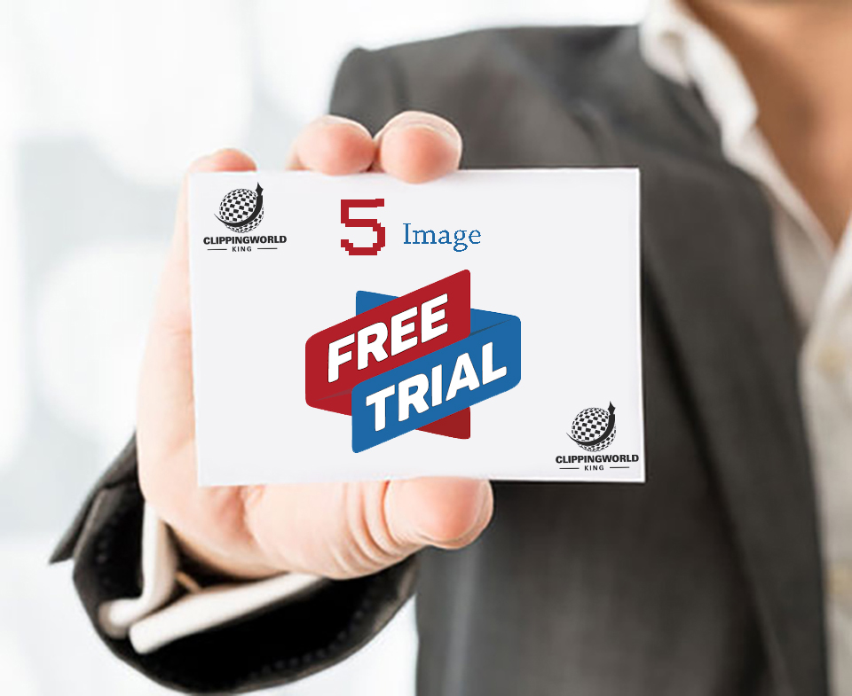 , Free trial before outsource image editing to us   clipping world king